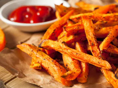 Smoky Sweet Potato Fries