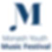 Monash Youth Music Festival logo
