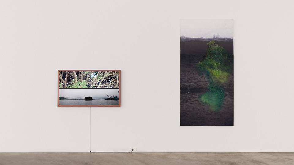 Installation view of Elly Cho, Arrival Unexpected Dialogue, Gallery Simon, 2014
