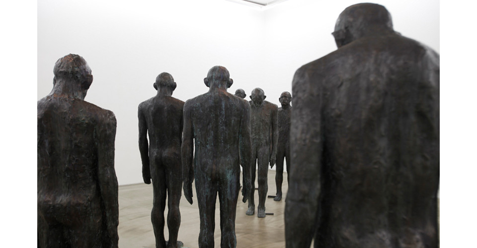 Installation view of 암시 Allusion, 2013, dimensions variable