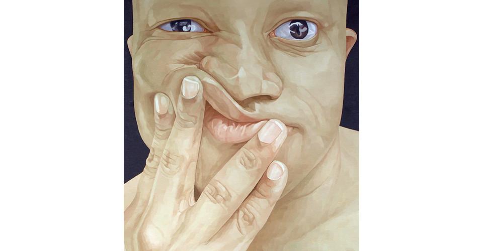 Byen, Ung-Pil, Portrait as a men ? Mr. Kisamo from USA, 2006, 130 x 150 cm