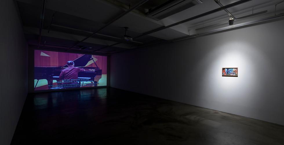 Installation view of The Logic of Sensation, Gallery Simon, 2017