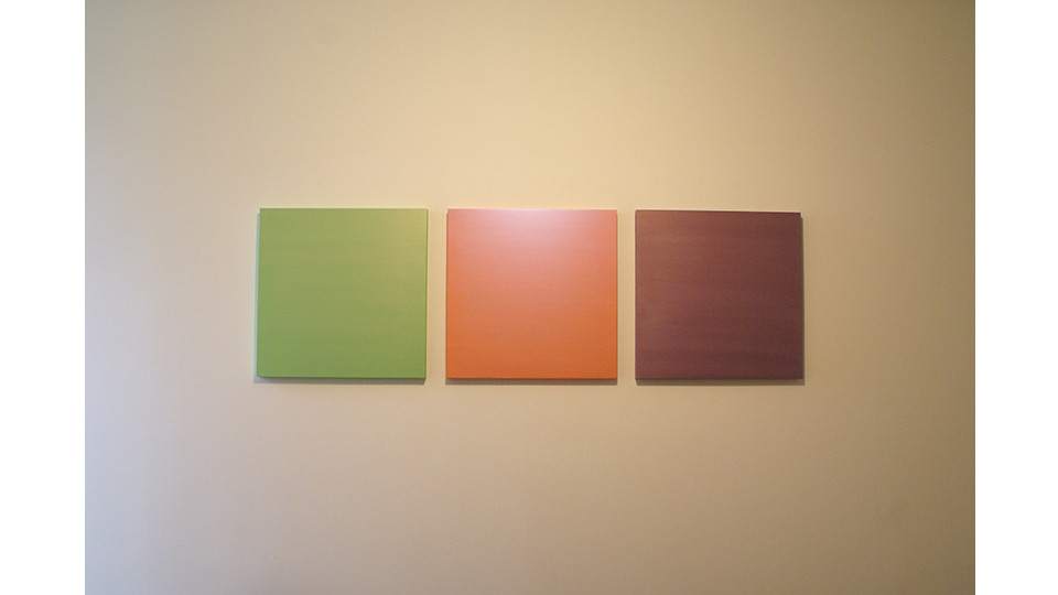 Choi, Sun-Myoung, secondary Colors, 2008, 40 x 40 cm