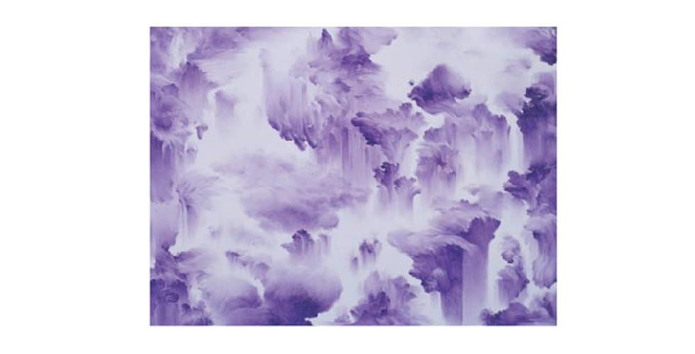 Moon, Beom, Slow, Same #3031, 2006, acrylics, oilstick on panel, 165 x 122 x 7 cm