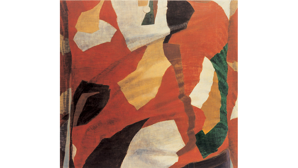 Kang, Seok-Ho, Untitled, 2005, oil on hemp cloth, 165 x 155 cm
