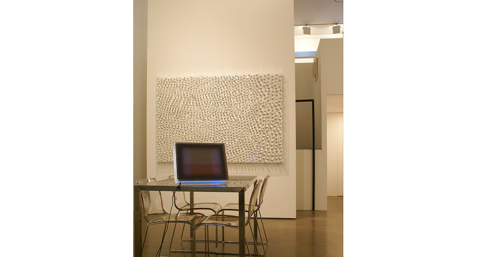 Installation view at Gallery Simon, 2008