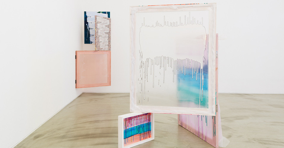 Installation view of Yoon Kyung Park, Arrival Unexpected Dialogue, Gallery Simon, 2014