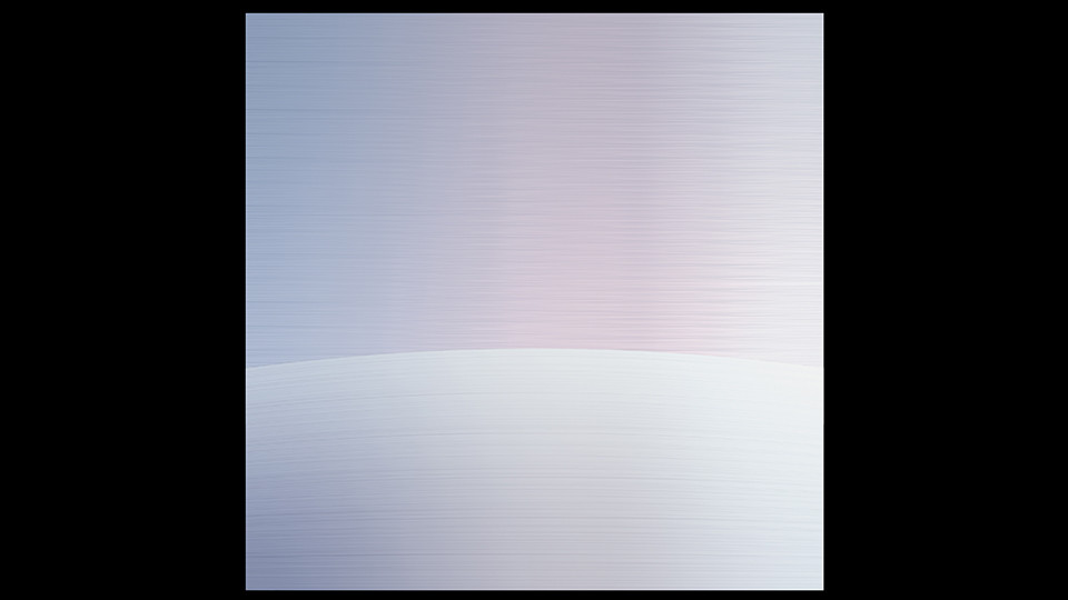 Circular Horizon4, 2004, acrylic on wood panel, 120 x 120 cm