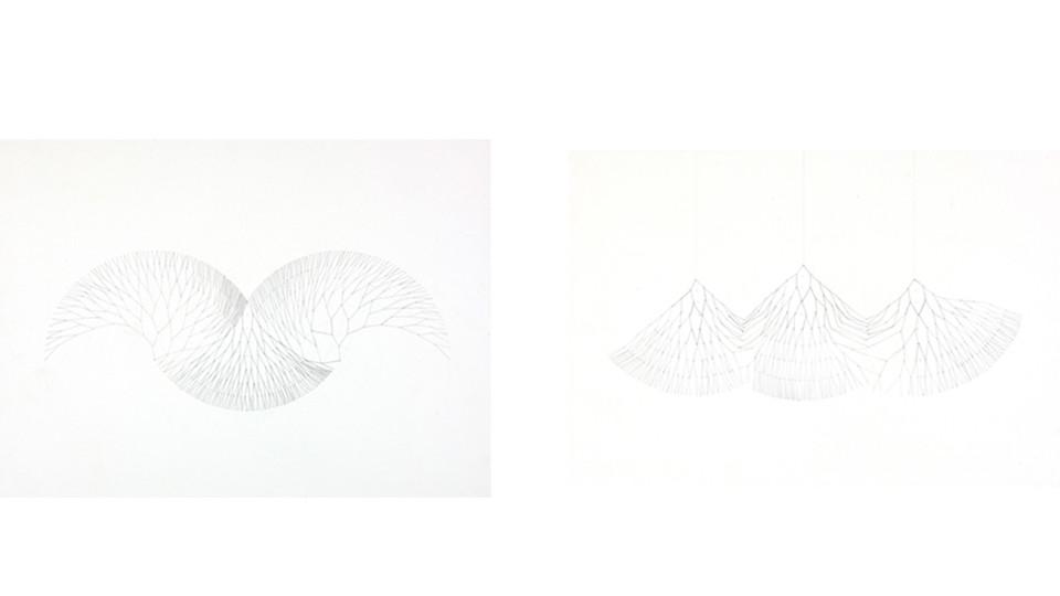 '회로에서-272번의만남'을 위한 드로잉(Drawing for 'On the Circuit- 272 Rendezvous'), 2011, pencil on paper, 54 x 40 cm , 46 x 32 cm