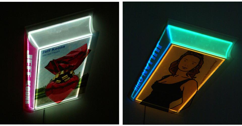 Transformed Book, 2011, media installation