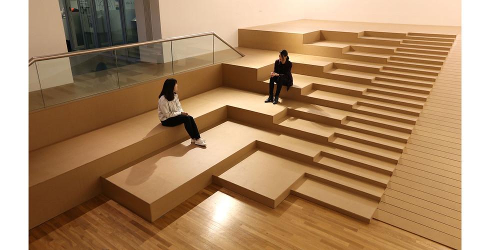 Installation view of Bauhaus and Modern Life, Kumho Museum of Art, 2019
