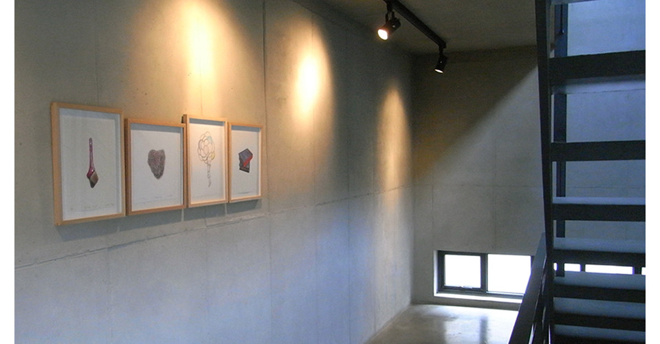 Installation view of simon's friends, print series of 20th anniversary, Gallery Simon, 2014
