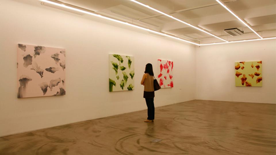 Secret Garden series Insatallation view at Gallery Simon, 2011