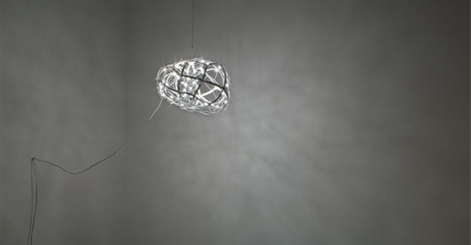 토러스 (Torus), 2011, aluminum+LED, 35 × 35 × 25 cm