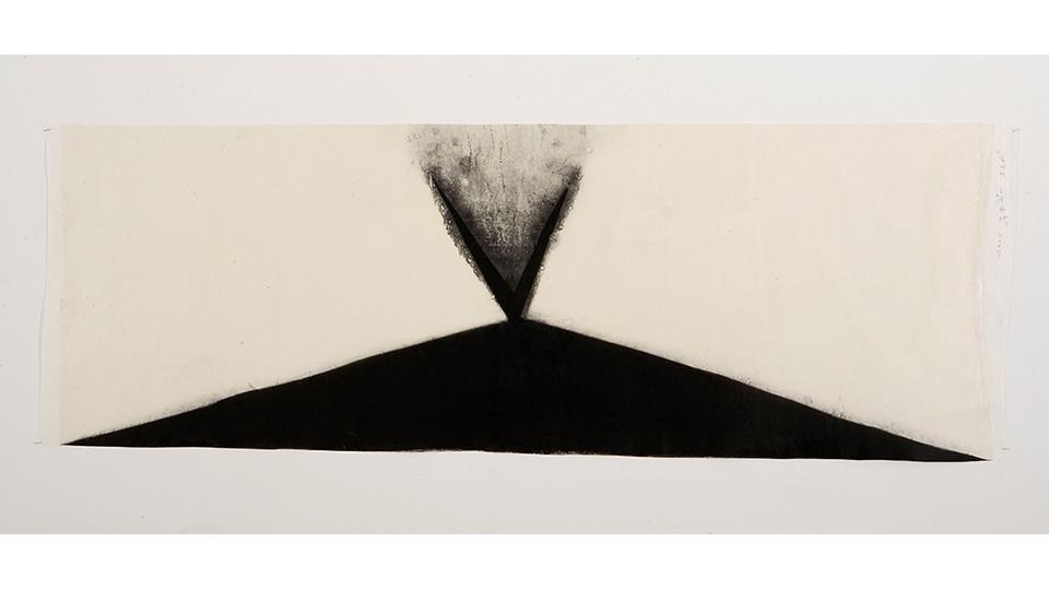 Lee, Joo-Won, Meet Unexpectedly on the Road, 2007, acrylics on Korean paper, 160 x 58 cm
