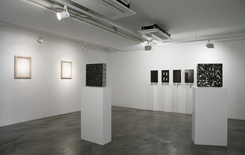 Installation view of solo exhibition, 'Object, Seeing,' Gallery Simon, 2012