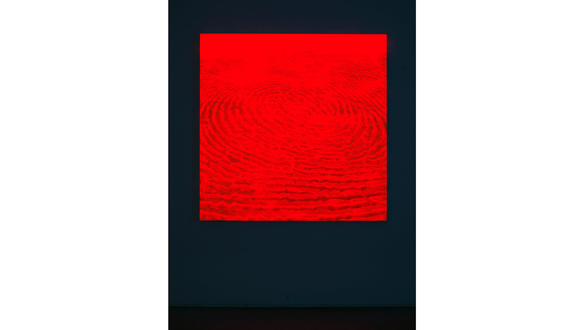 Light Lines_#2180102_2018_acrylic&phosphorescent pigment on canvas_137 x 137 cm