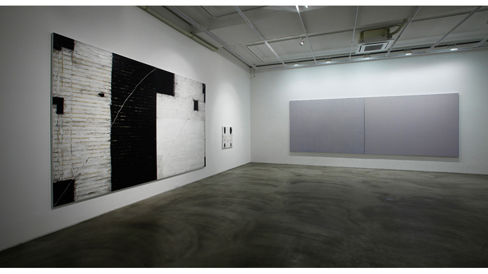 Installation view of 3 Acts 5 Scenes Happy Together, Gallery Simon, 2013