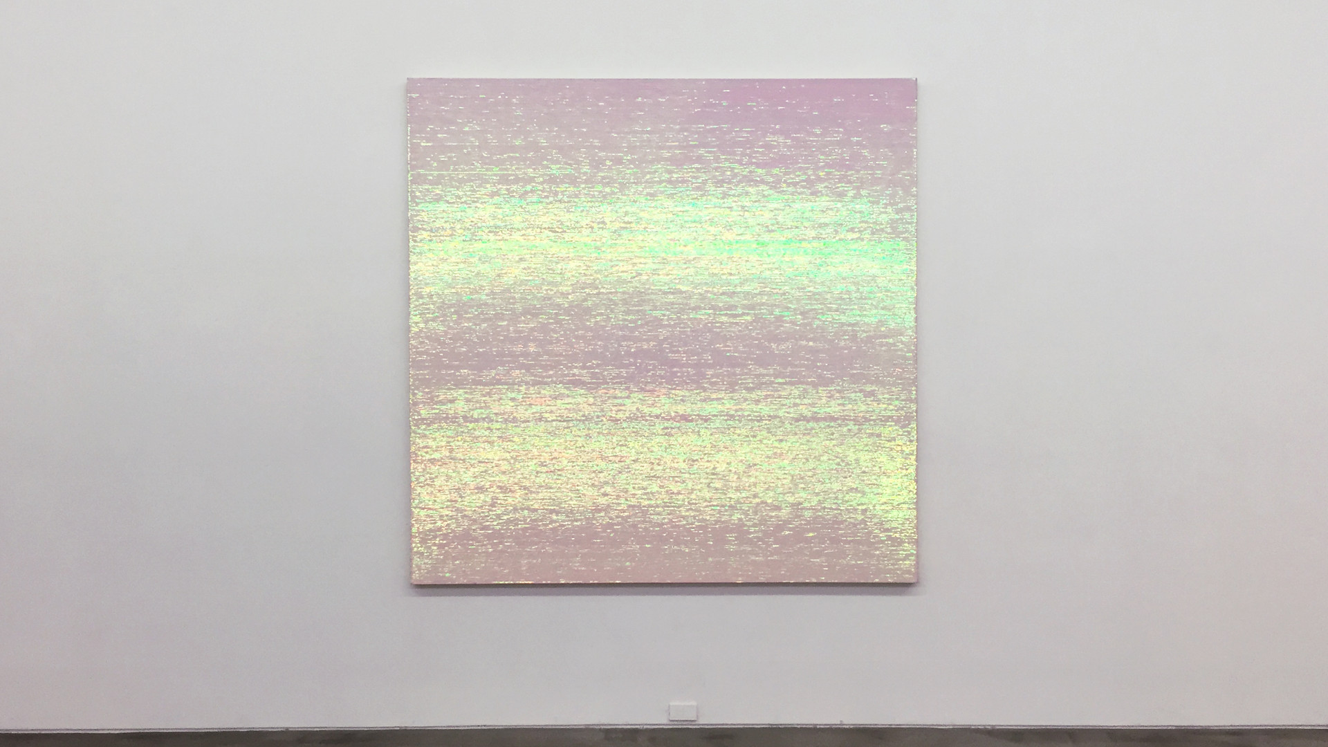 Noh, Sang-Kyoon, The Directions, 2002, sequins on canvas, 218 x 218 cm