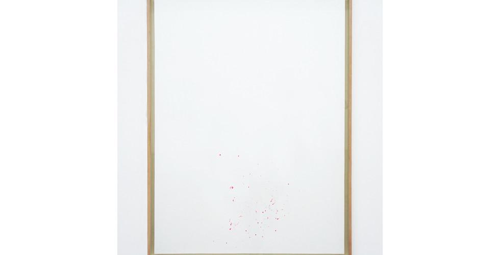 Kim Taiho, Landscape, 2017, ink on paper, 114x84cm