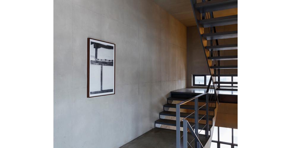 Installation view of Hanok 0493, 2016, 91 x 63 cm, archival pigment print, ed. of 15
