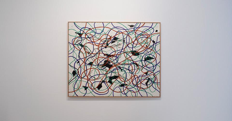 Splendid-Mass Media, 2011, mixed media on canvas, 130.3 x 162.2 cm