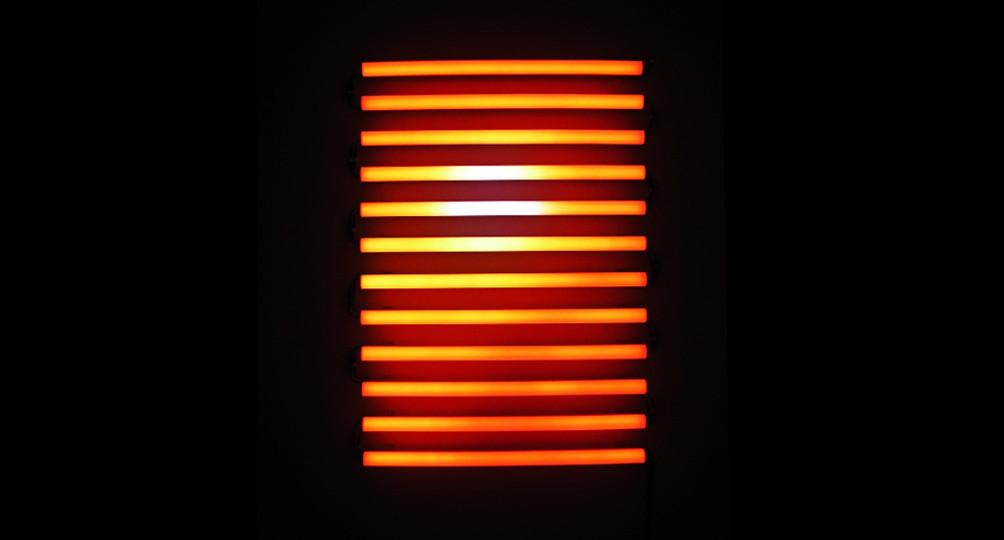 Sand Strom, 2006, LEDs, electronics, 147 x 101.5 x 10.5 cm