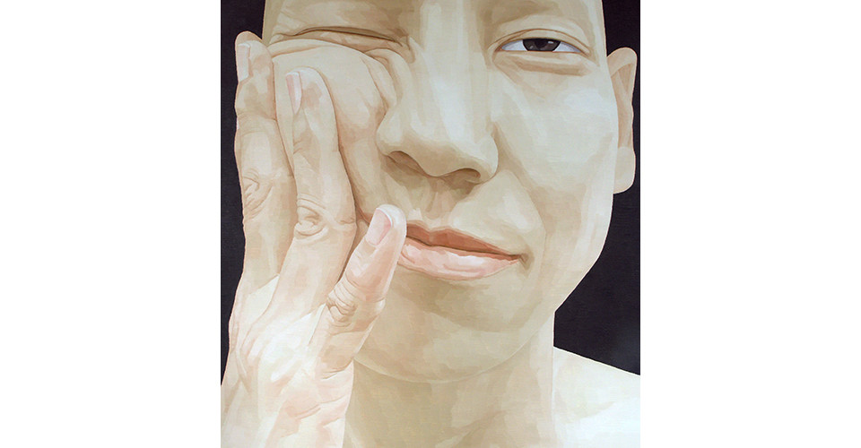 Byen, Ung-Pil, Portrait as a men ? Mr. Shirota from Japan, 2006, 130 x 150 cm