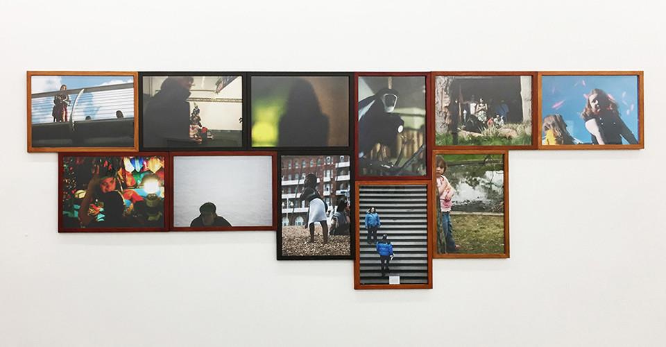 Eye Contact, 2006-16, pigment print, 29.7 x 42 cm each