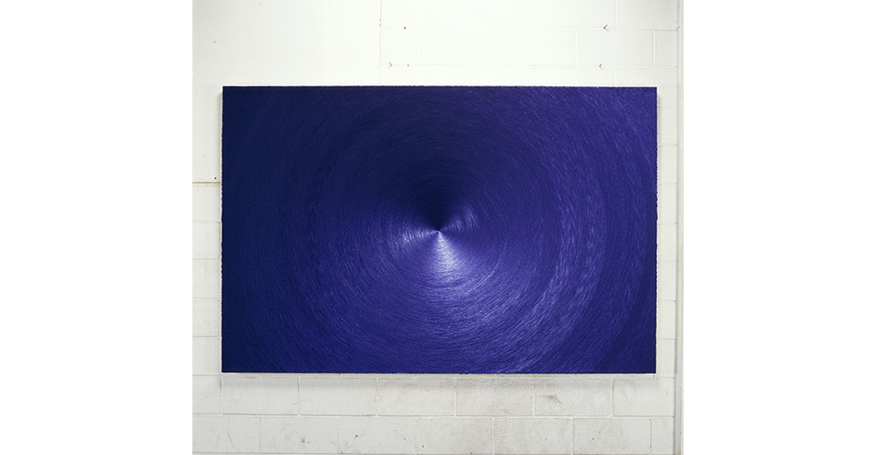 Noh, Sang-Kyoon, Another End, 2007, sequins on canvas, 220 x 145 cm