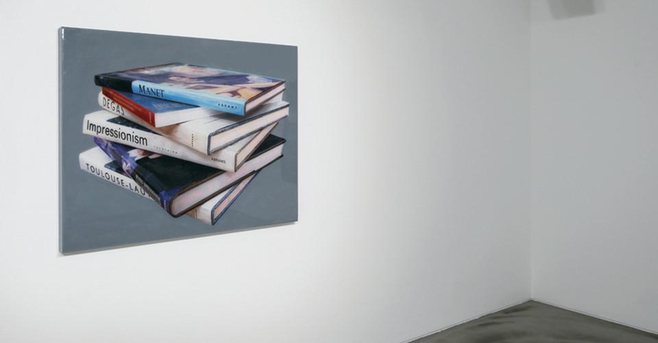 Impressionism,2011,acrylic on canvas, LED lighting, 92 x 116.9 cm