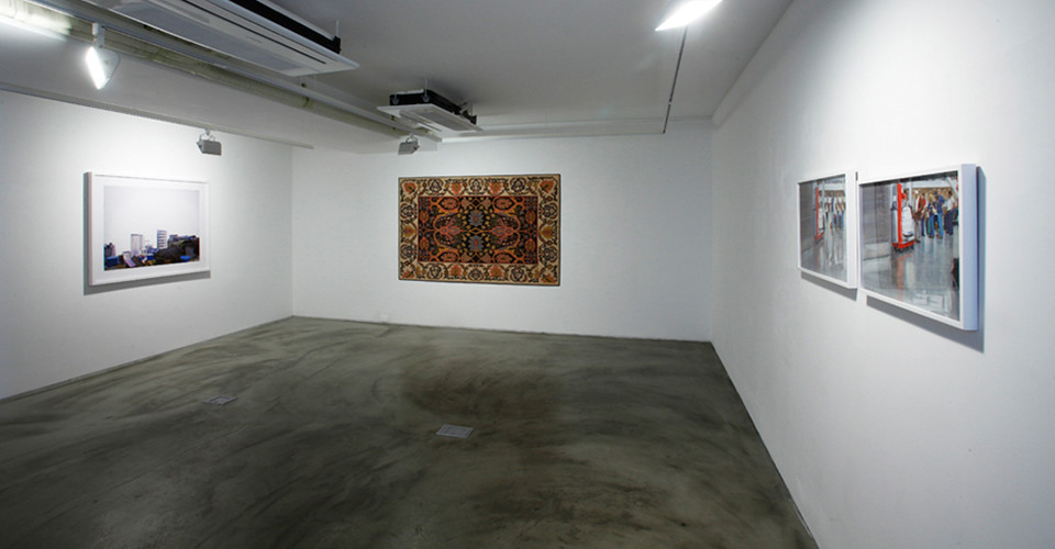 Installation view of Detail, Gallery Simon, 2013