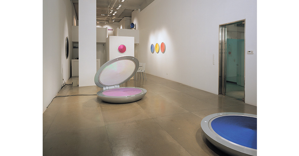 Installation View of I Love You at Gallery Simon, 2005