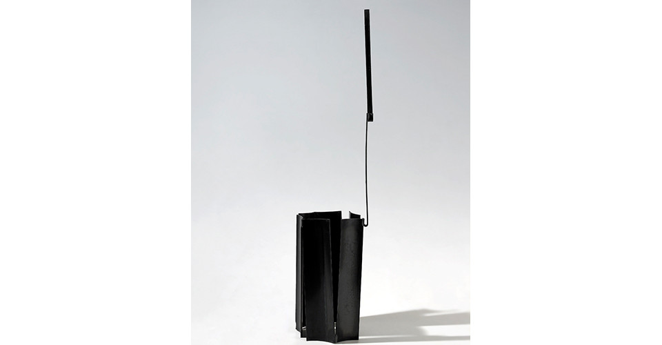 on it, 119.5X33X29, steel(cut and bend), 1987-2012