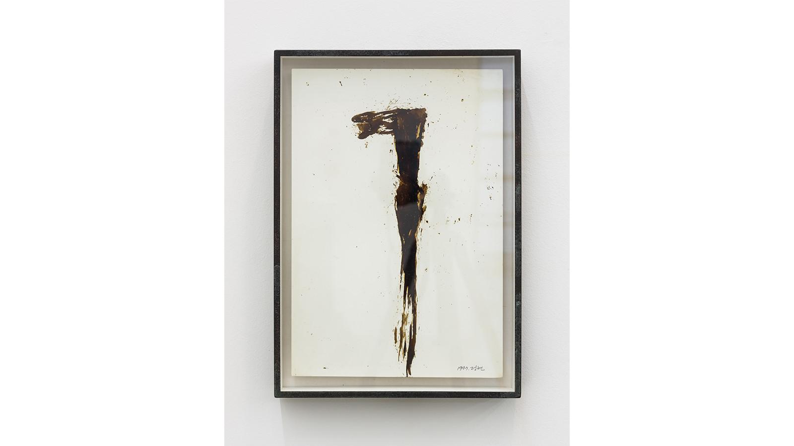 Drawing, 1997, col tar, 31 x 44 cm