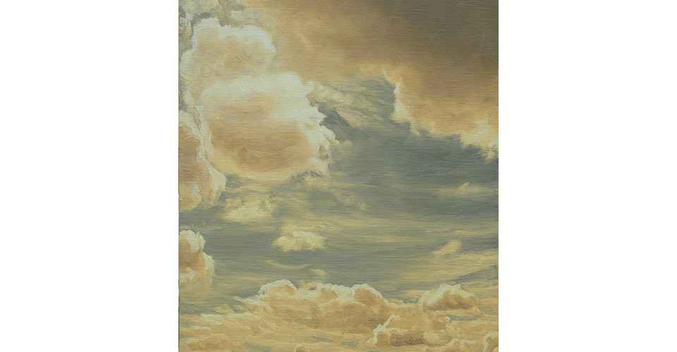 Kang, Un, 순수형태-황, 2007, oil on canvas, 33.4 x 45.5 cm