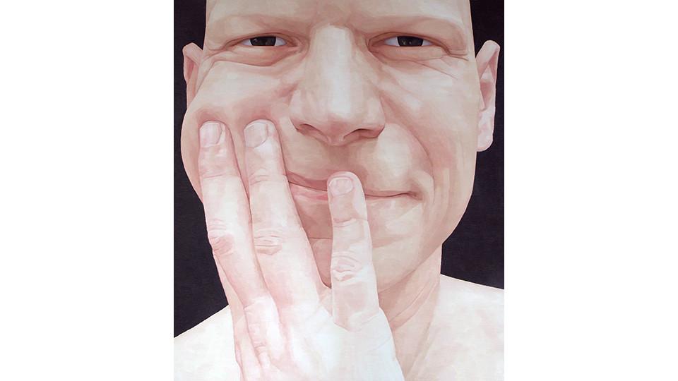 Byen, Ung-Pil, Portrait as a men ? Mr. Guillouard from France, 2006, 130 x 150 cm