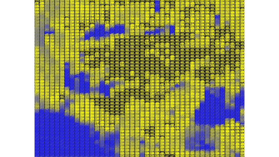 Tracing Types_YB, 2008, digital camera, LCD panel, computer, JAVA, dimensions variable