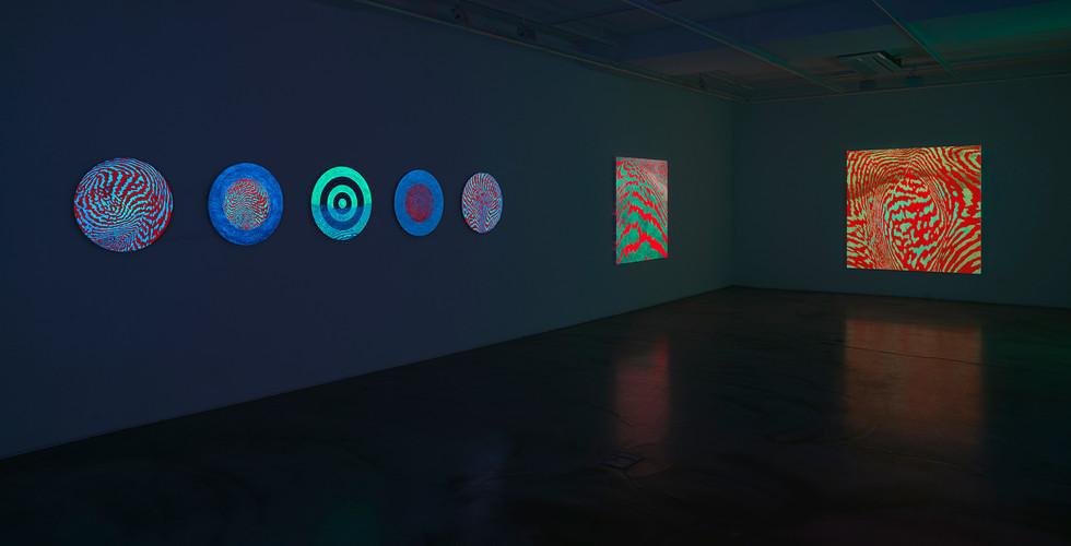 Installation view of Light of Lightness_Gallery Simon