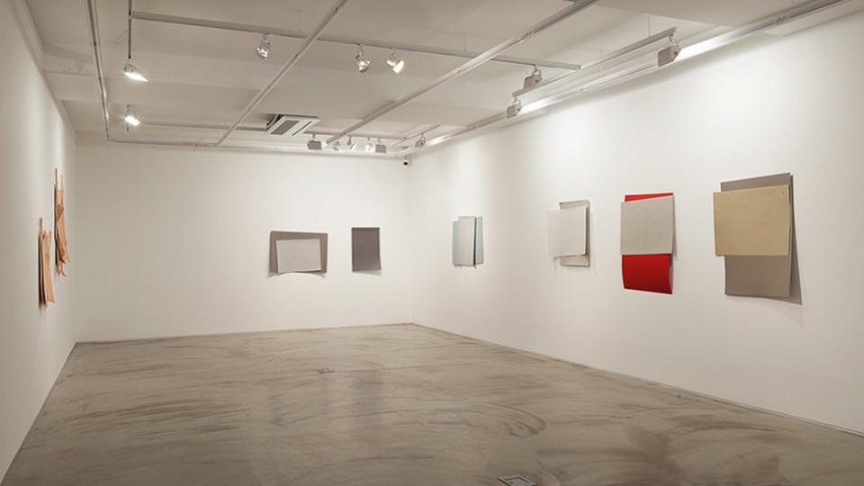 Installation view of Solo exhibition, melo, Gallery Simon, 2012