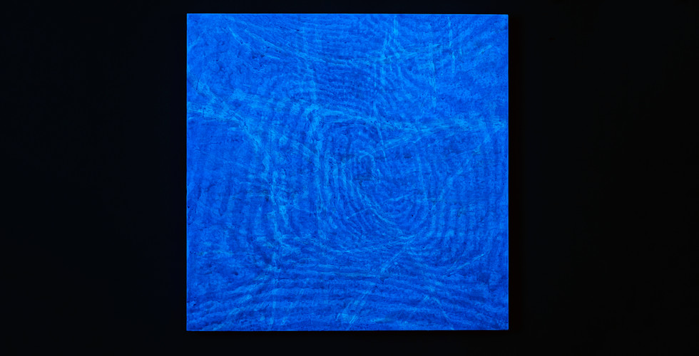 Light Lines_#2180112_2018_acrylic&phosphorescent pigment on canvas_107 x 107 cm