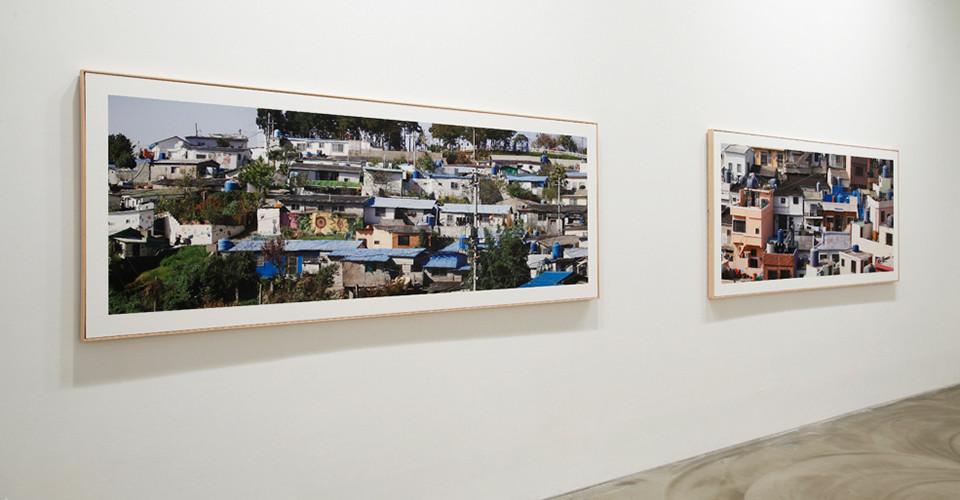Installation view of Kang Hong-Goo, Detail, Gallery Simon, 2013
