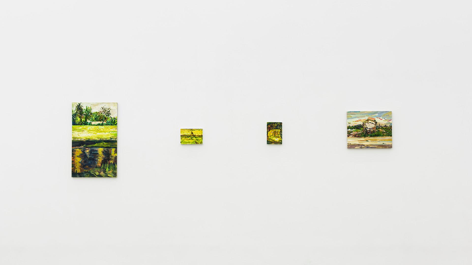 Hyein Lee, Installation view of The Logic of Sensation, Gallery Simon. 2017