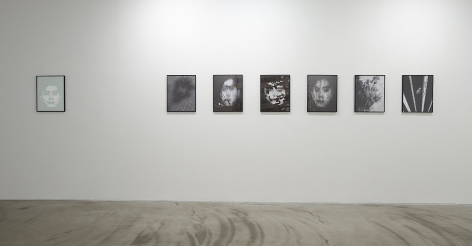 Installation view of Changwon Lee, Arrival, Gallery Simon, 2013