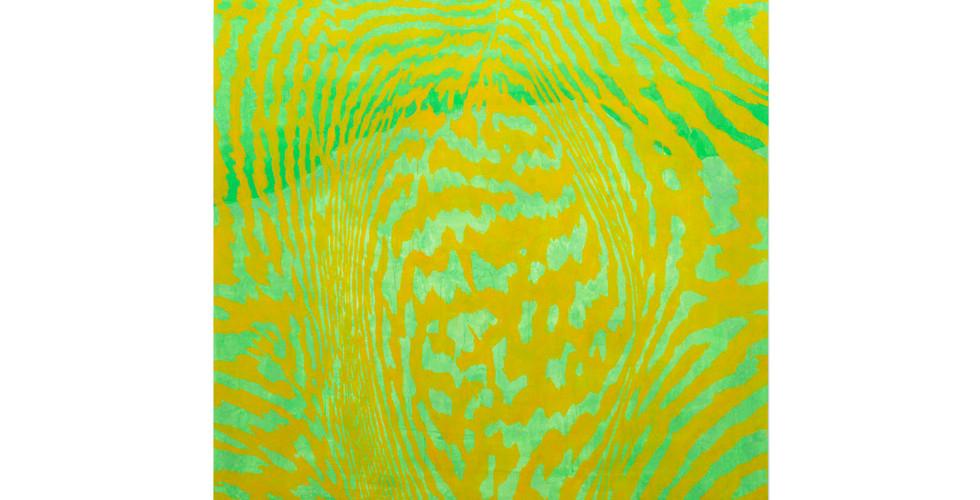 Light Lines_#2180110_2018_acrylic&phosphorescent pigment on canvas_180 x 180 cm