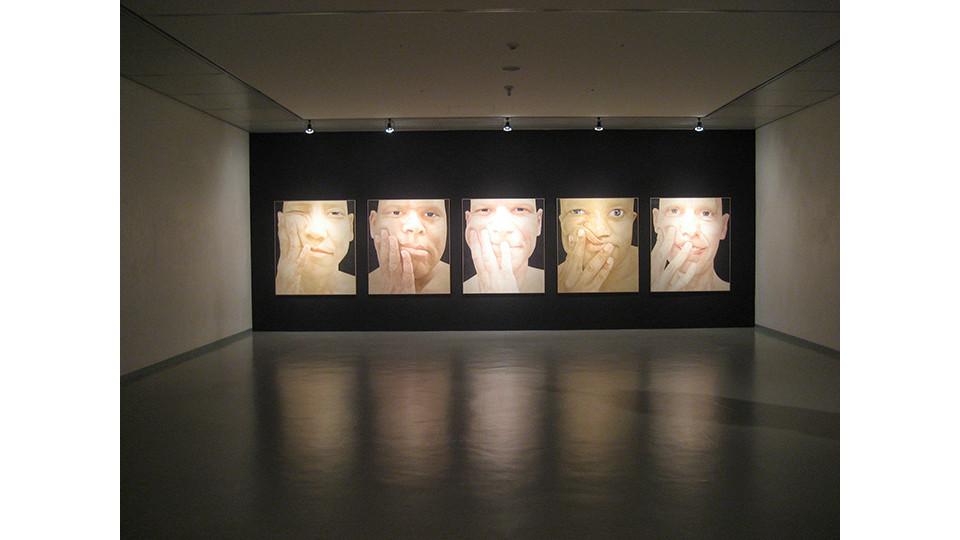 Byen, Ung-Pil, Portrait as a men, 2006, 1000 x 300 cm