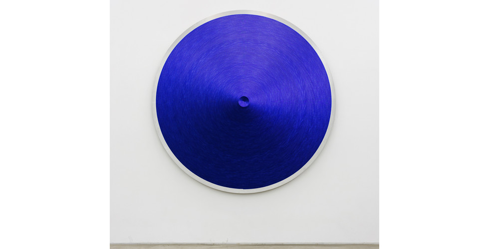 Noh, Sang-Kyoon, Double Ends, 2008, sequins on alluminium plate, Ø 220cm