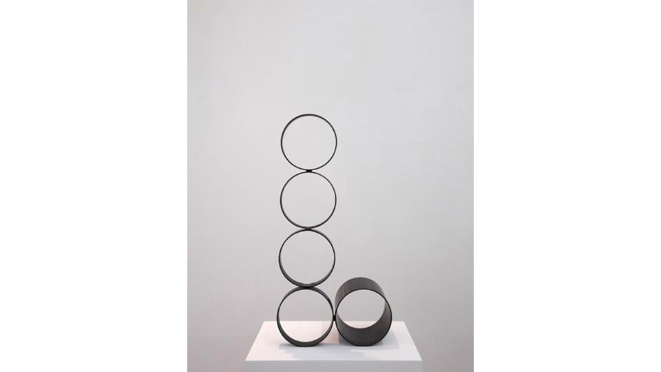 from it, 2013, iron, 88.2 x 43.8 x 17.2 cm
