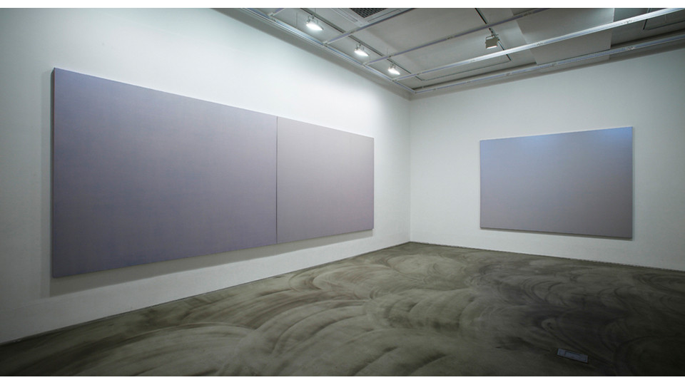 Installation view of Landscape-B, 3 Acts 5 Scenes Happy Together, Gallery Simon, 2013