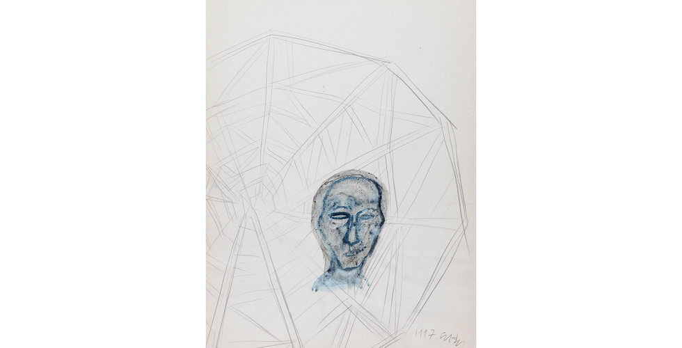 Oh Won-Bae, Untitled, 1997, pigment on paper, 58x41cm